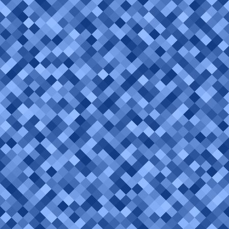Diamond pattern. Seamless vector background with blue and light blue quadratic diamonds Иллюстрация