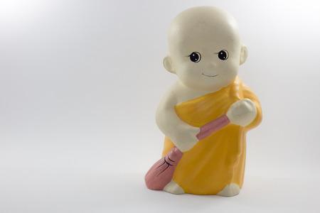 moine: petit mod�le de moine Banque d'images
