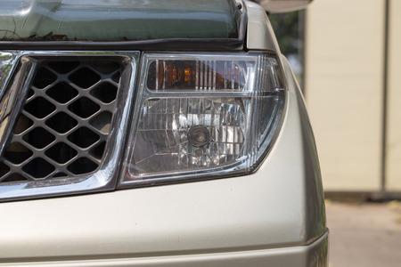 hight: Car light hight Beam Stock Photo