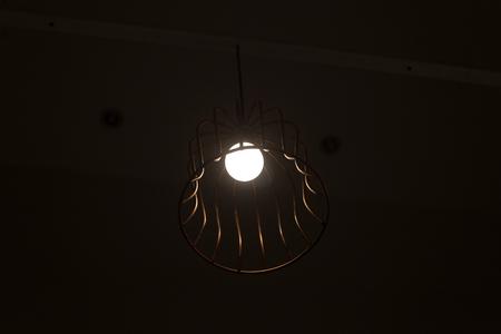 lampshades: stylish lampshades tree unit Stock Photo