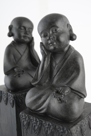Buddha sculptures Stock Photo
