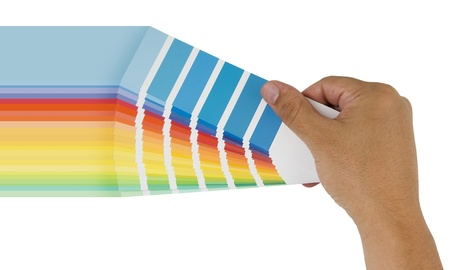 painting colorful with color bridge Stock Photo - 14391932