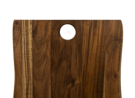wood notice board isolated