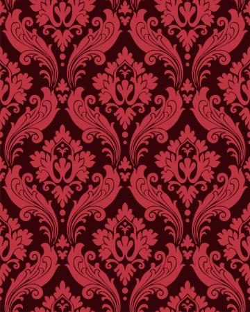 antiek behang: Vintage naadloze textuur