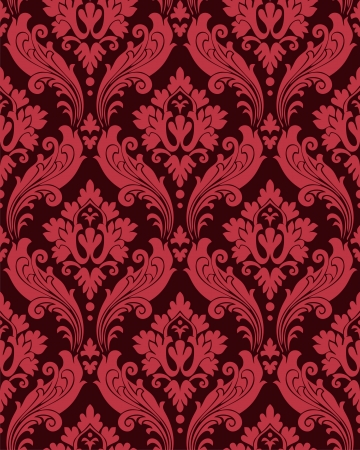 victorian wallpaper: Vintage seamless texture  Illustration