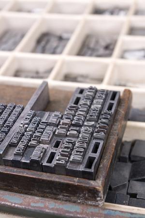 Printing types detail