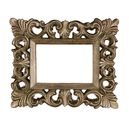 Vintage golden frame Standard-Bild