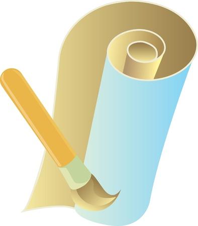 surveyors: Pen and paper  Illustration