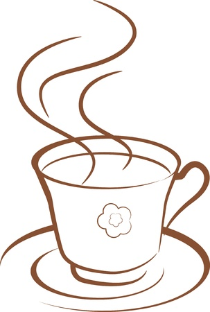 hot coffee Stock Vector - 15855823