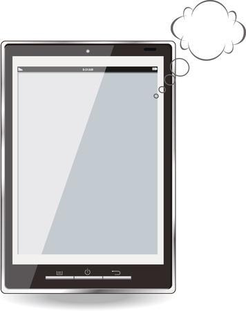 llustration of mobile phone  Vector eps 8 Illustration