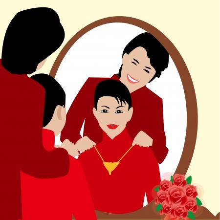 heterosexual: chinese wedding
