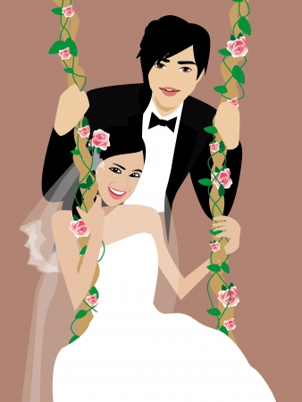 kelet ázsiai kultúra: esküvő