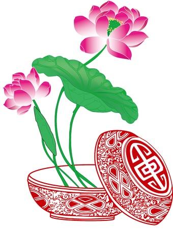 lotus Stock Vector - 16383655