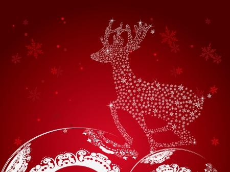 Christmas Greeting Card. Stock Vector - 16796671