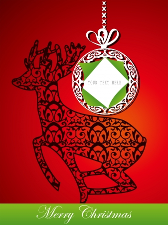Christmas card Stock Vector - 17090369