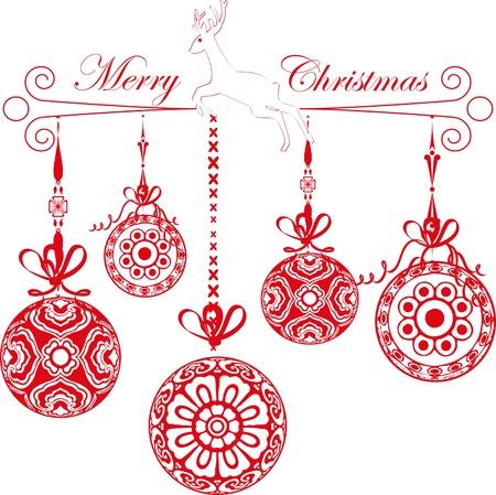 Christmas balls Stock Vector - 17090396
