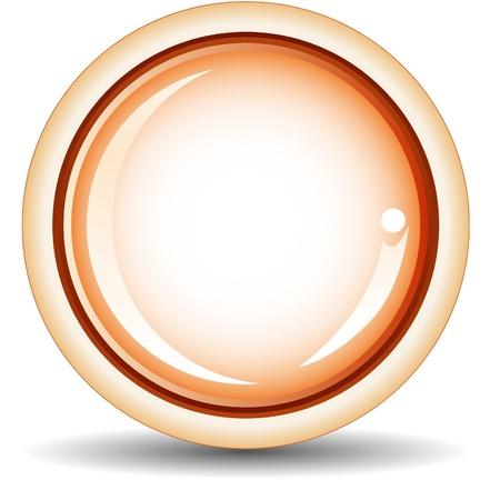 Vector - glossy button Stock Vector - 17205519