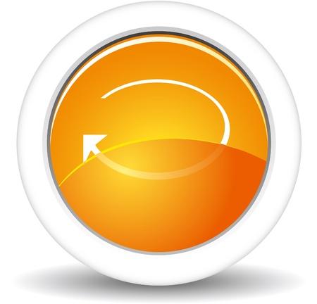 Vector - glossy button   Stock Vector - 17205508