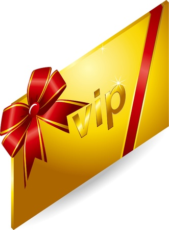 VIP Gold Card Stock Vector - 17205528