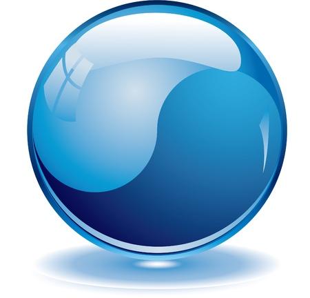 Blank blue web buttons for website or app   Illustration