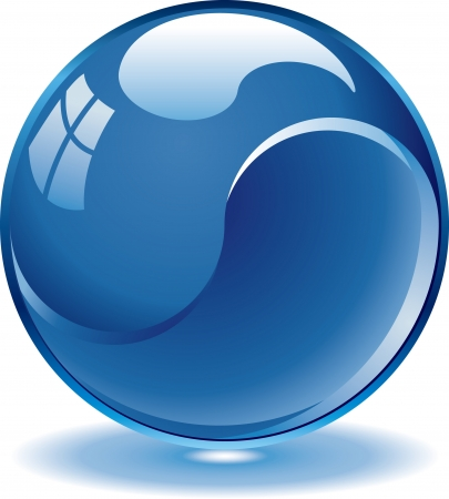 gibbose: Blank blue web buttons for website or app  Vector eps8 Illustration