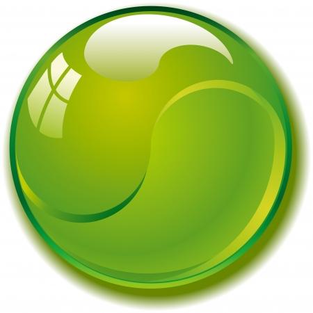 gibbose: Green web buttons for website or app  Vector esp 8
