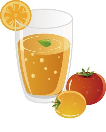 Nutrition whitening juice Stock Vector - 17694692