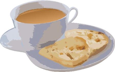 Rich nutritious breakfast