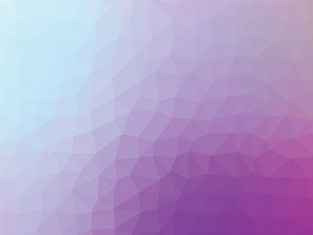 Low poly pattern. Abstract blue violet background.