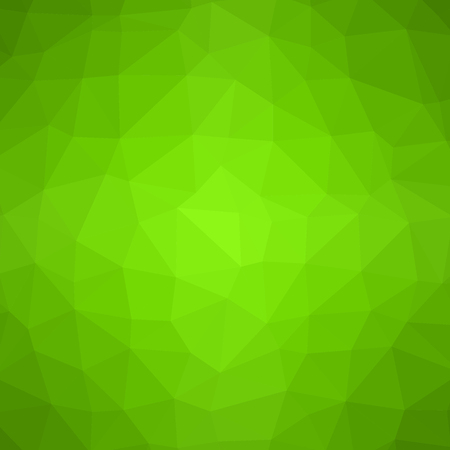 Low poly pattern. Abstract green background. Vector illustration. 向量圖像