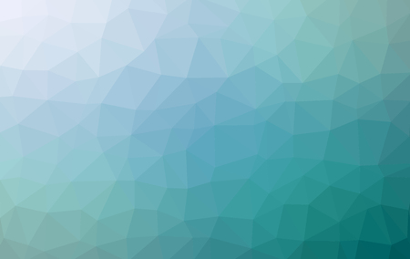 Low poly pattern. Abstract blue background. Vector illustration.