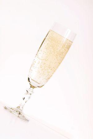 Champagne flute photo