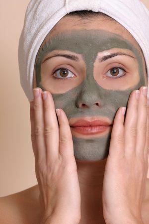 facial treatment: Masked Beauty - facial treatment