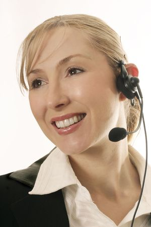 telephonist: Friendly telephonist,help desk personnel