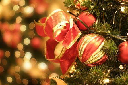 Christmas tree and lights Stock Photo - 259625