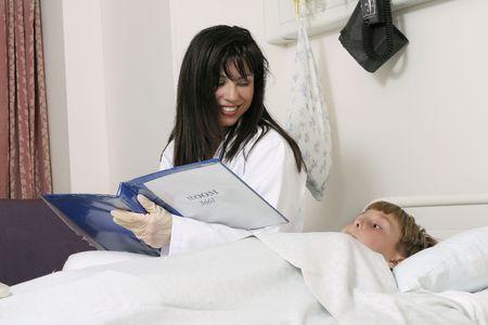 Pacjent: Lekarz zmniejsza dziecka zmartwień.