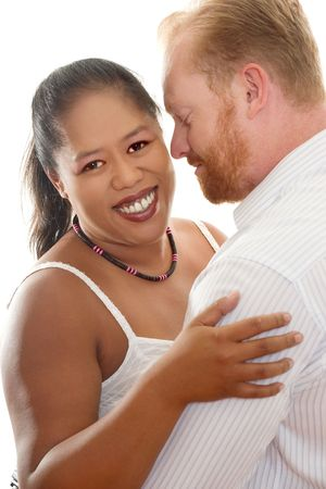 Happy Couple - Interracial relationships Stock Photo - 327813