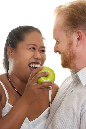 Healthy happy relationships Stock Photo - 327802