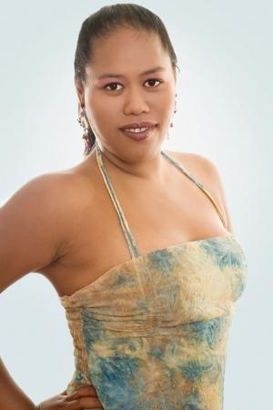 Portrait of an indigenous woman