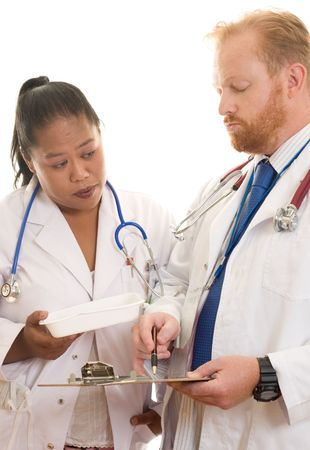 Doctors at work Stock Photo - 331036
