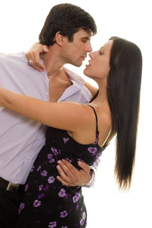 tango: Couple dancing together Stock Photo