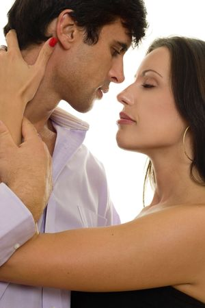 Prelude to a . romance, passion, love affair, seduction, sensuality Stock Photo - 445905