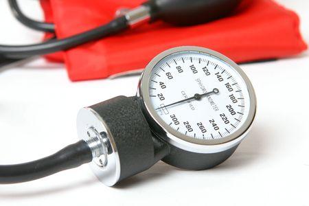 sphygmonanometer: Sphygmomanometer - an inflatable cuff used to measure blood pressure