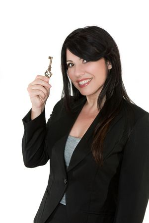 Unlock your potential.   Key to success.  Financial security, life coach, etc, concepts Stock Photo - 806366