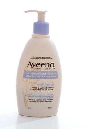 colloidal: Aveeno moisturising beauty body lotion with colloidal oatmeal, lavendar, chamomile and ylang-ylang oils