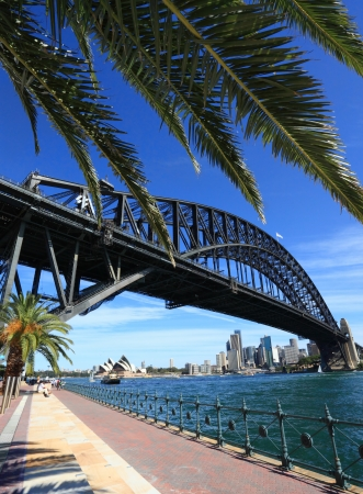 sydney harbour: Sydney Opera House and Sydney Harbour Bridge Editorial