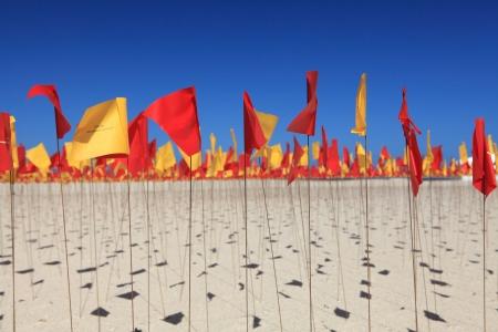 annual event: BONDI BEACH, AUSTRALIA - 30 de octubre 2013 Esculturas por el mar, Bondi 2013 Evento anual que presenta artistas de todo el mundo, titulado Escultura