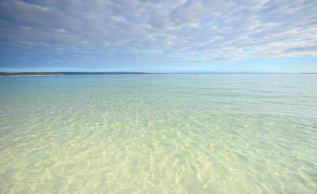 south coast: Crystal clear waters of Jervis Bay, South  Coast of NSW