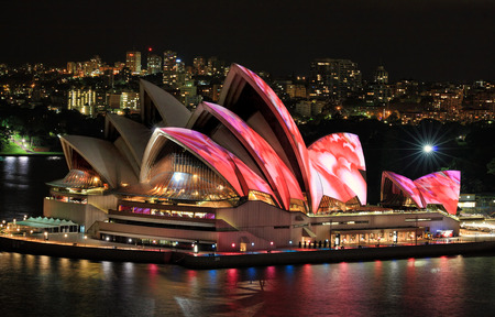 Sydney, Australien - 6. Juni 2014; Sydney Opera House Editorial