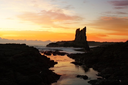 kiama: Sunrise at Cathedral Rocks, Kiama Downs, NSW, Australia